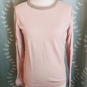 Elle Sweater With Trim